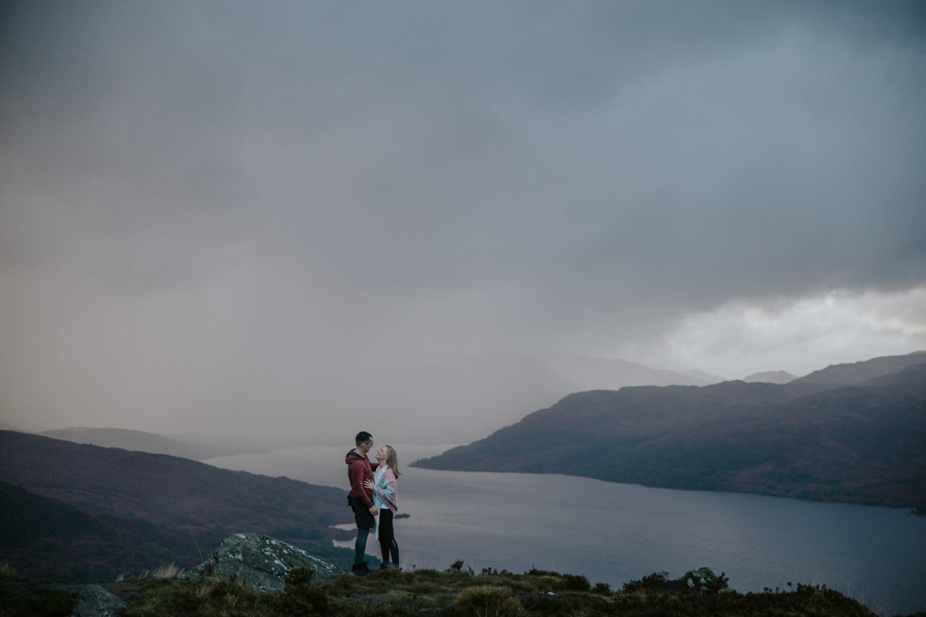 Scottish Adventure Engagement Photographer