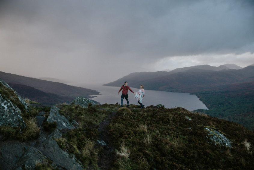 Ben Aan | Adventure Elopement Scotland Photographer