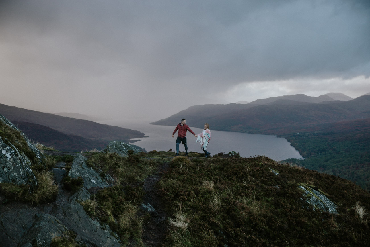 Adventure Elopement Scotland Photographer