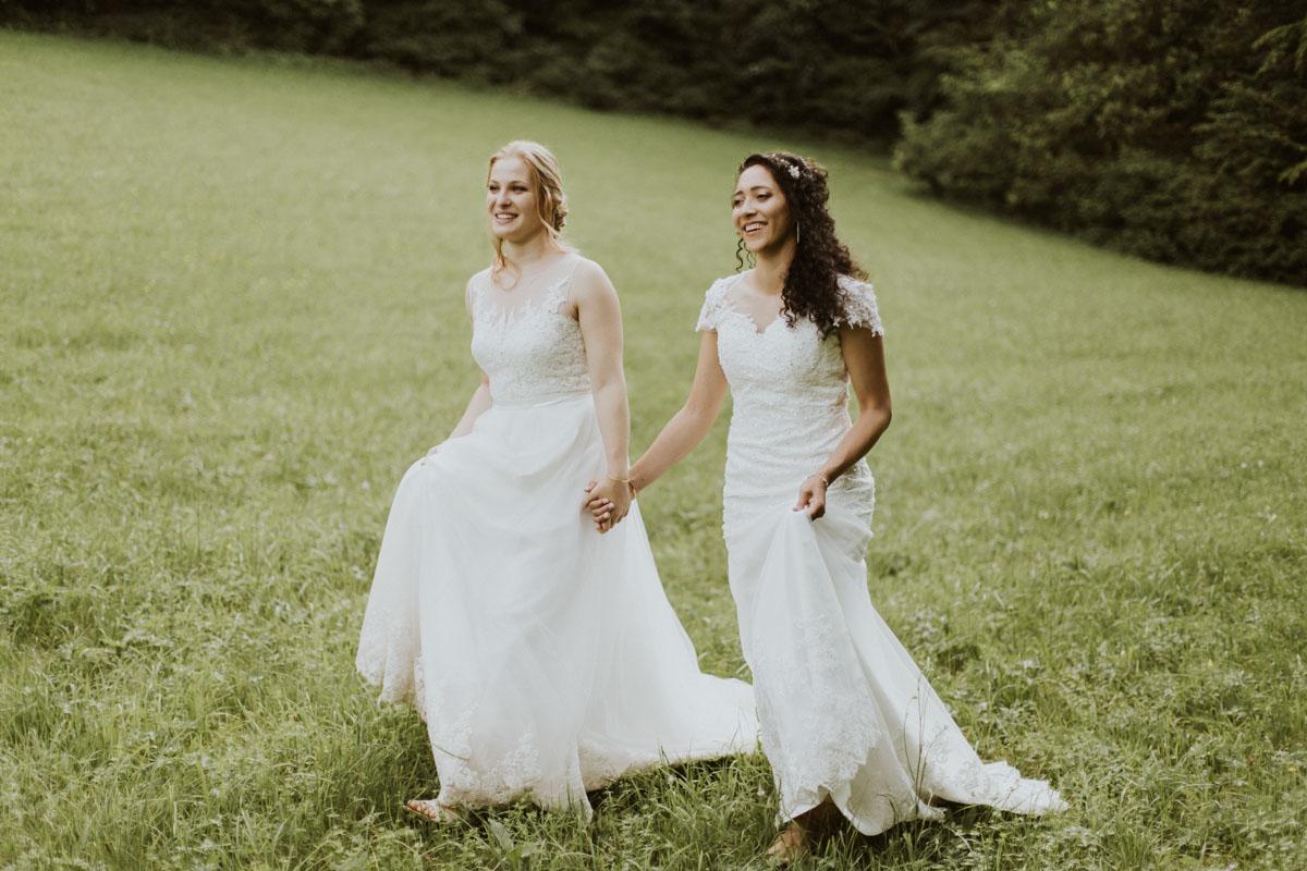 Svatba dvě nevěsty