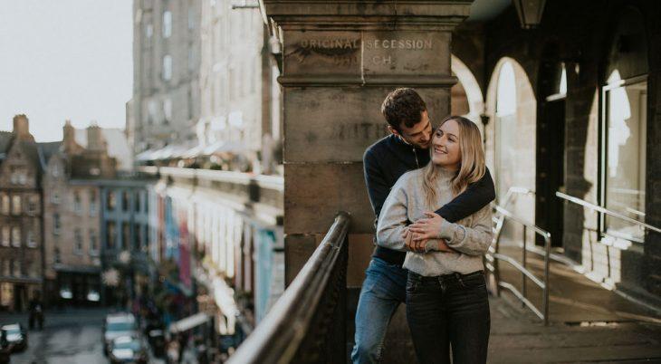 Engagement Edinburgh Scotland