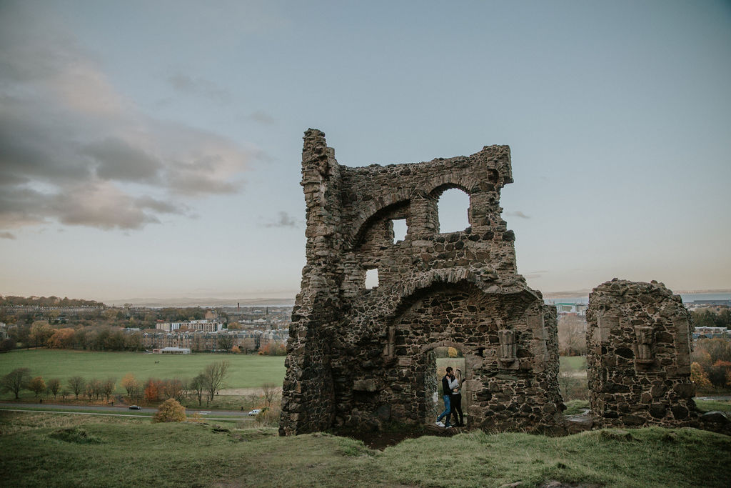 Engagement Session in Edinburgh Scotland