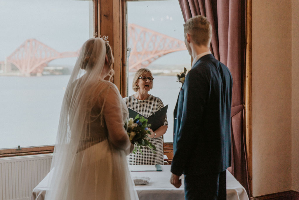South Queensferry Registrars Wedding Ceremony