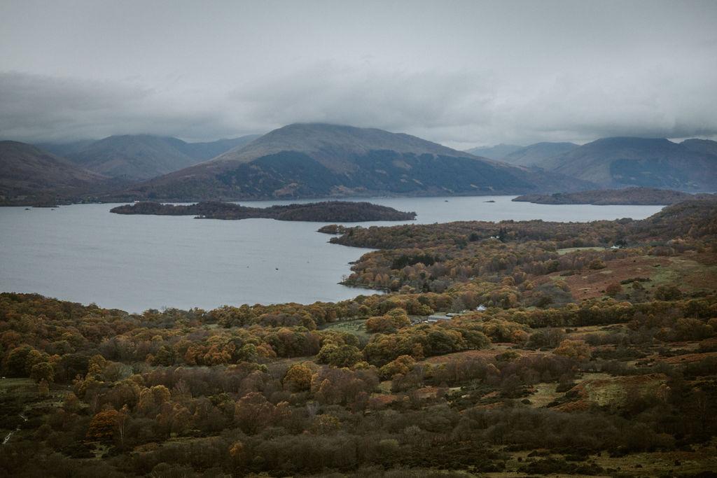 Scotland - Loch Lomond & Trossachs National Park in the autumn