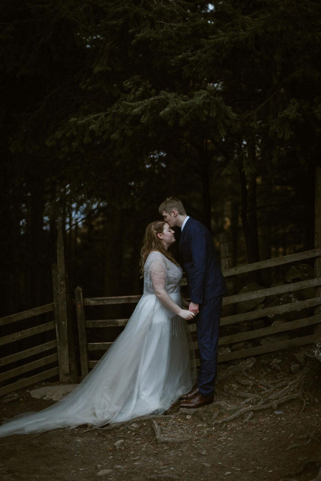 Kissing Gate Wedding