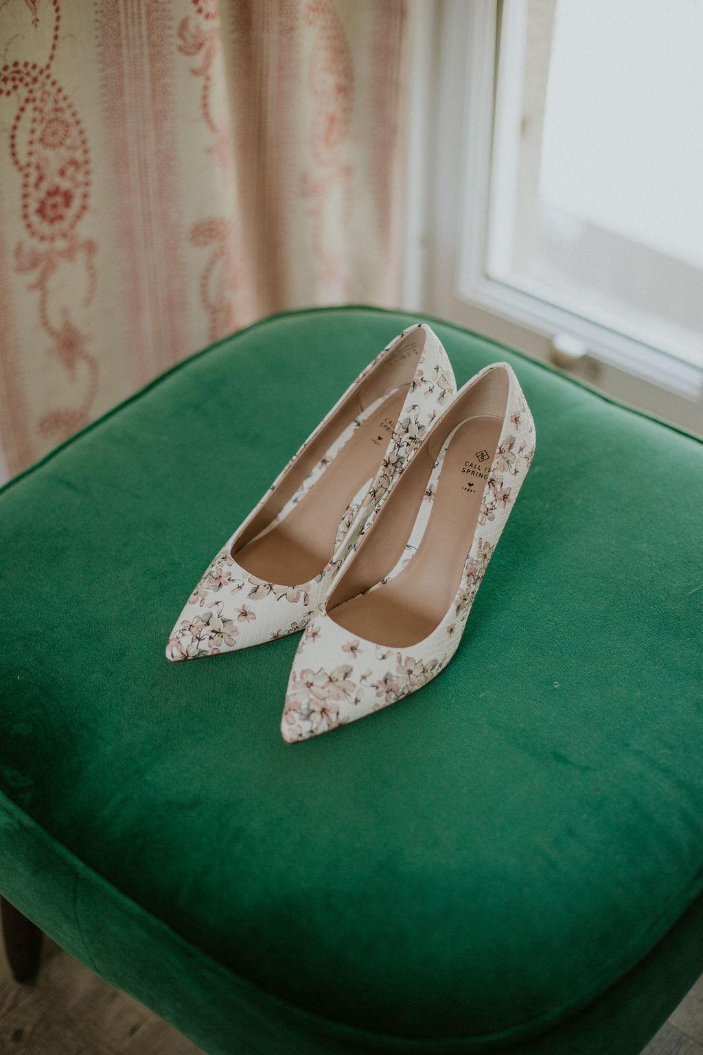 Call it spring vegan wedding shoes