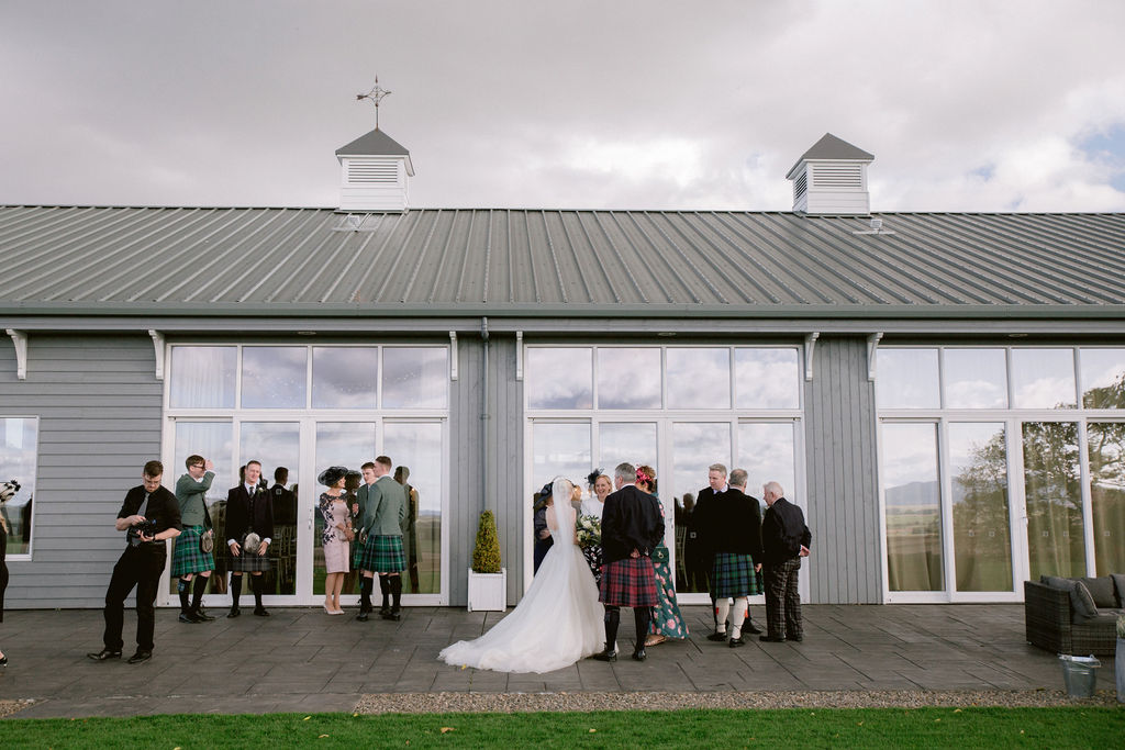 The Barn at Barra Castle Wedding Photography by Ceranna Photography | Aberdeenshire Photographer