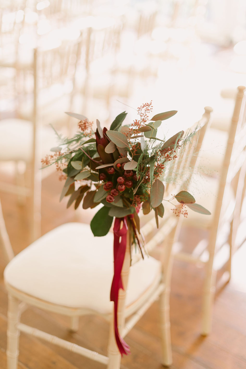 Flower Vogue Aberdeen Wedding Flowers in burgundy
