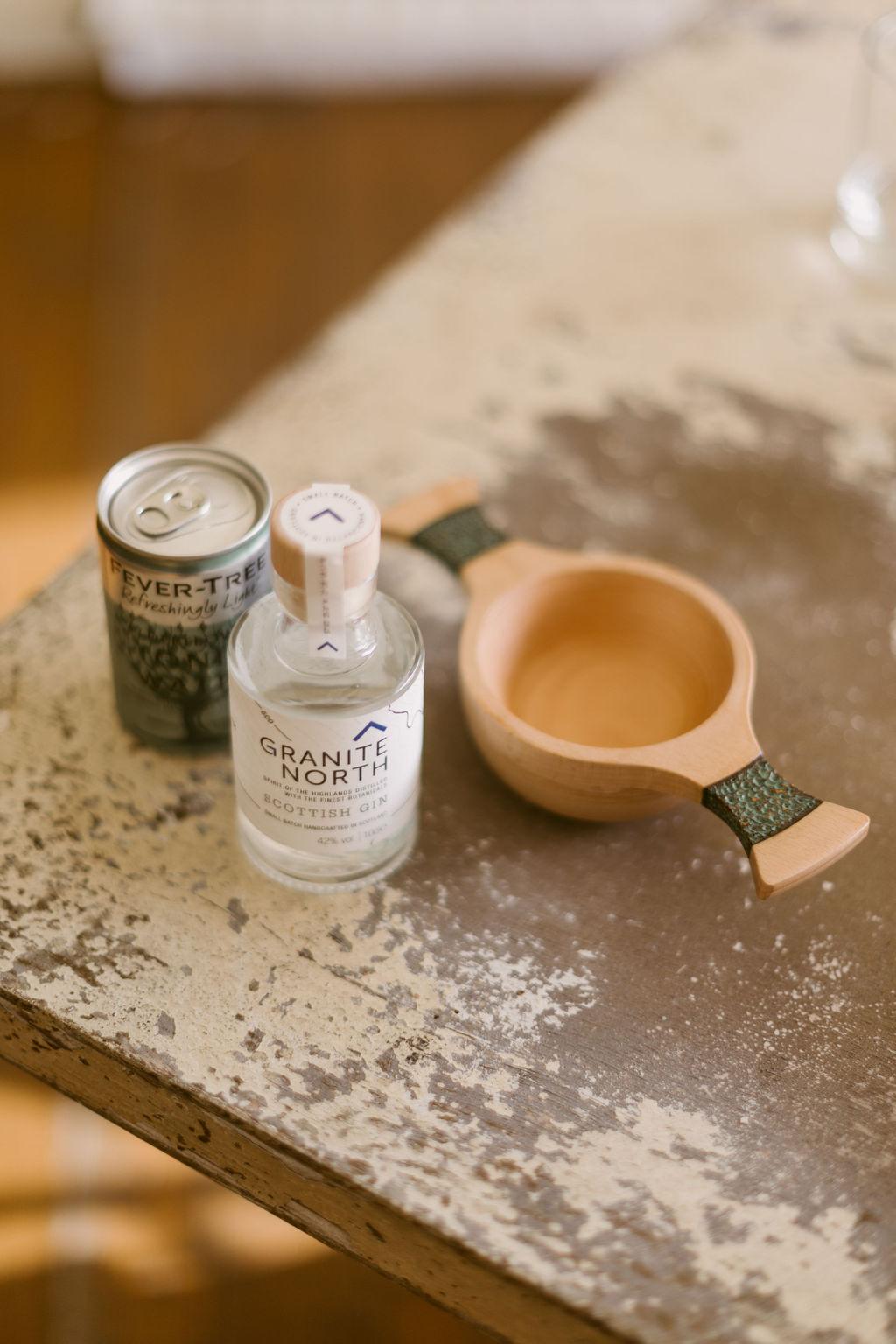 Wooden Quaich inspiration | Scottish Wedding Tradition | Gin Quaich