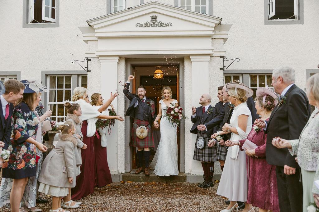 Elsick House Wedding - Wedding Photographer Scotland | Scottish Wedding Photographer