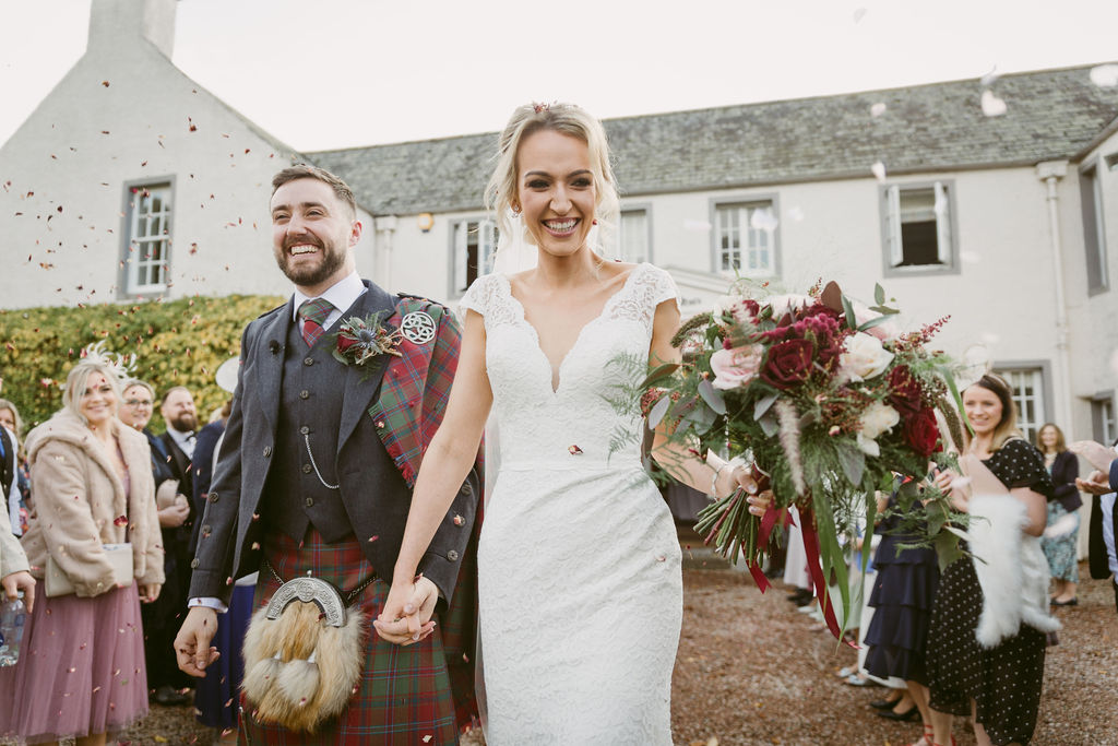 Elsick House Wedding Photography Aberdeenshire Photographer