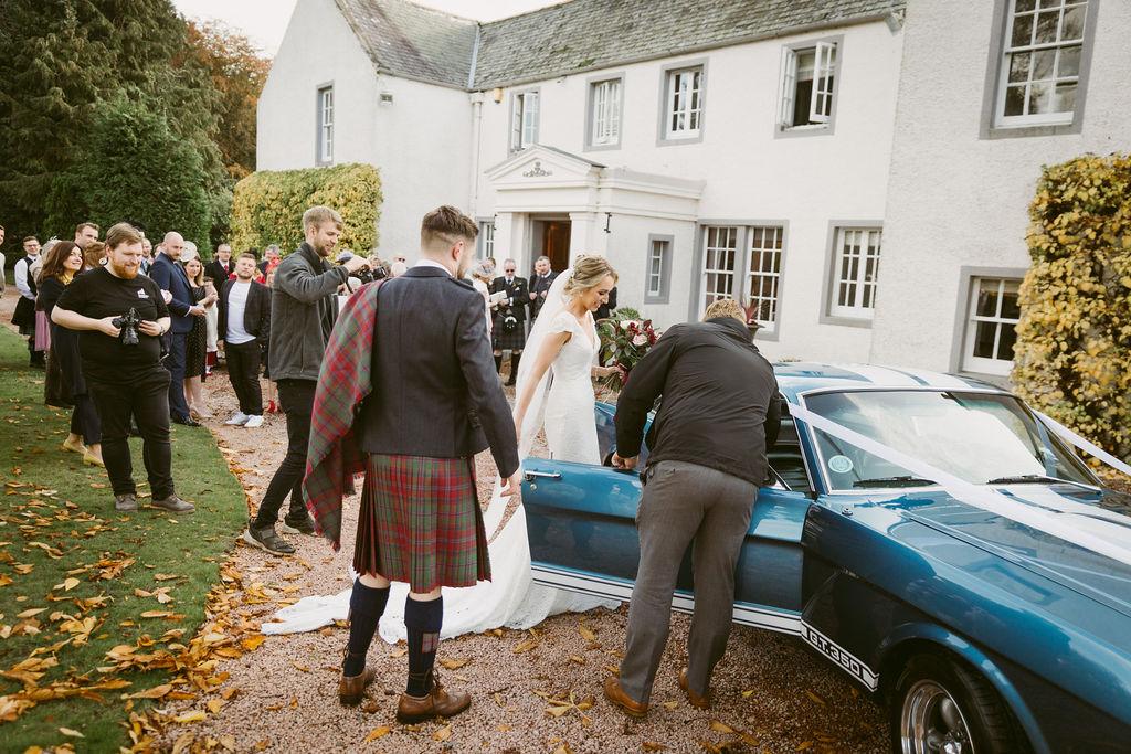 Elsick House Wedding
