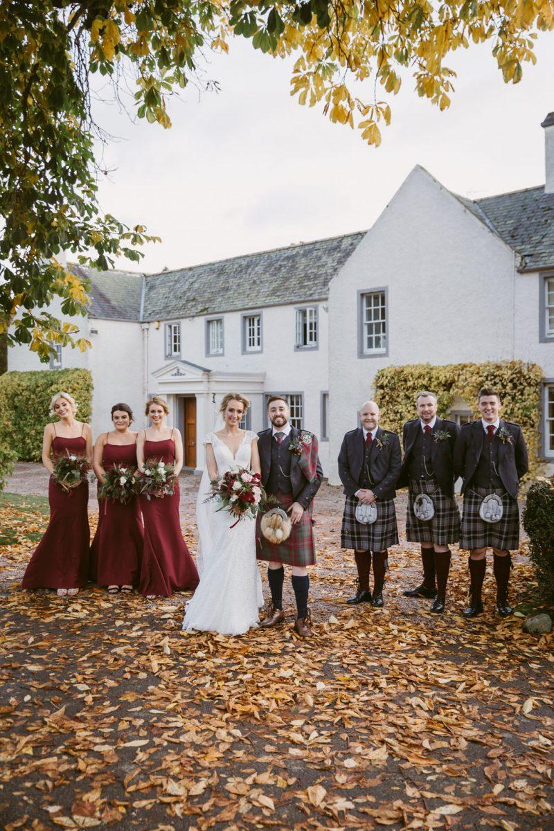 Bridal Party Elsick House