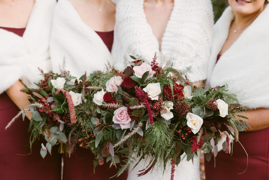 Flower Vogue Aberdeen | Bridal Bouquet Florist Aberdeenshire | Elsick House Wedding