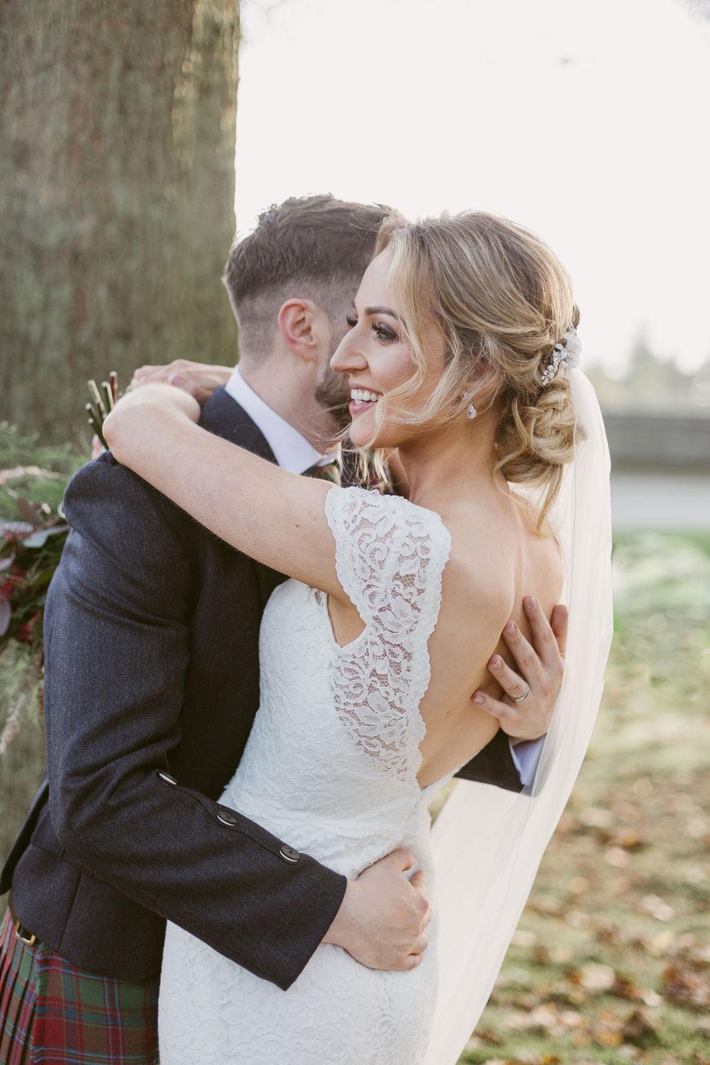 Claire Notarangelo - Red Rocks Jewellery Aberdeen | Elsick House Wedding Photography | Amy Gill Vanity Studio Hair Stylist Aberdeen