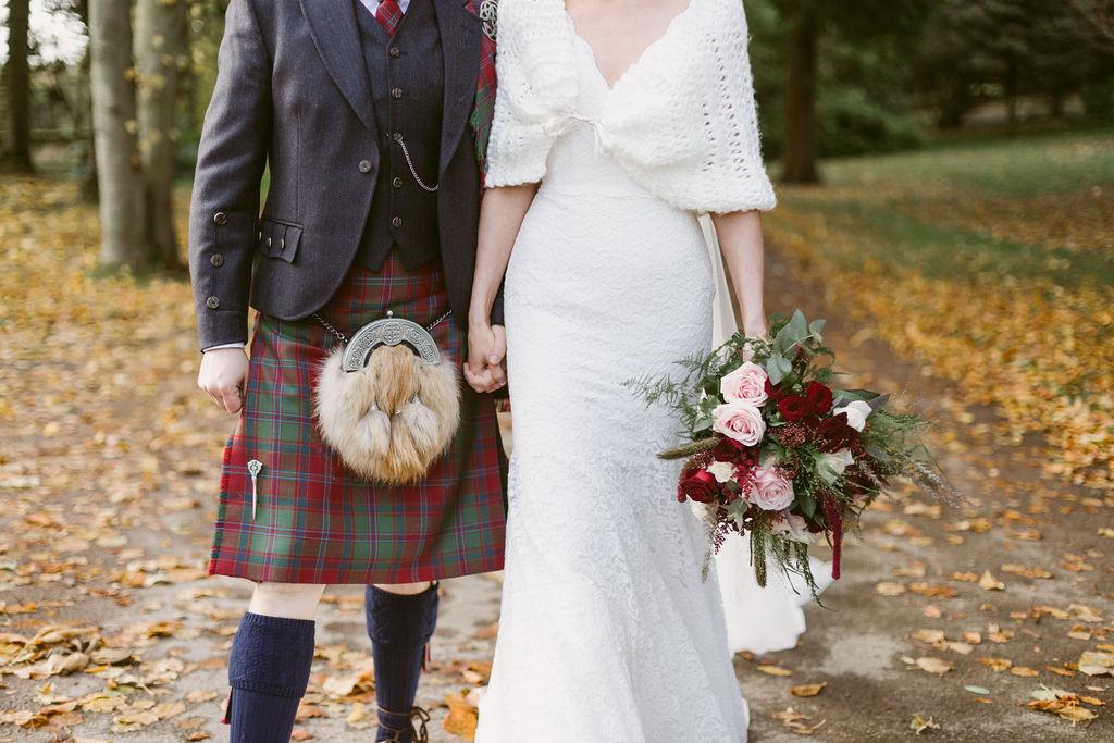 Autunal Elsick House Wedding
