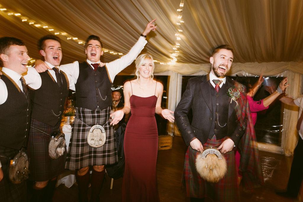 Elsick House Wedding Party | Scottish Wedding Photographer