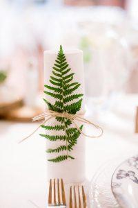 Fern Wedding Decor - Sustainable Wedding