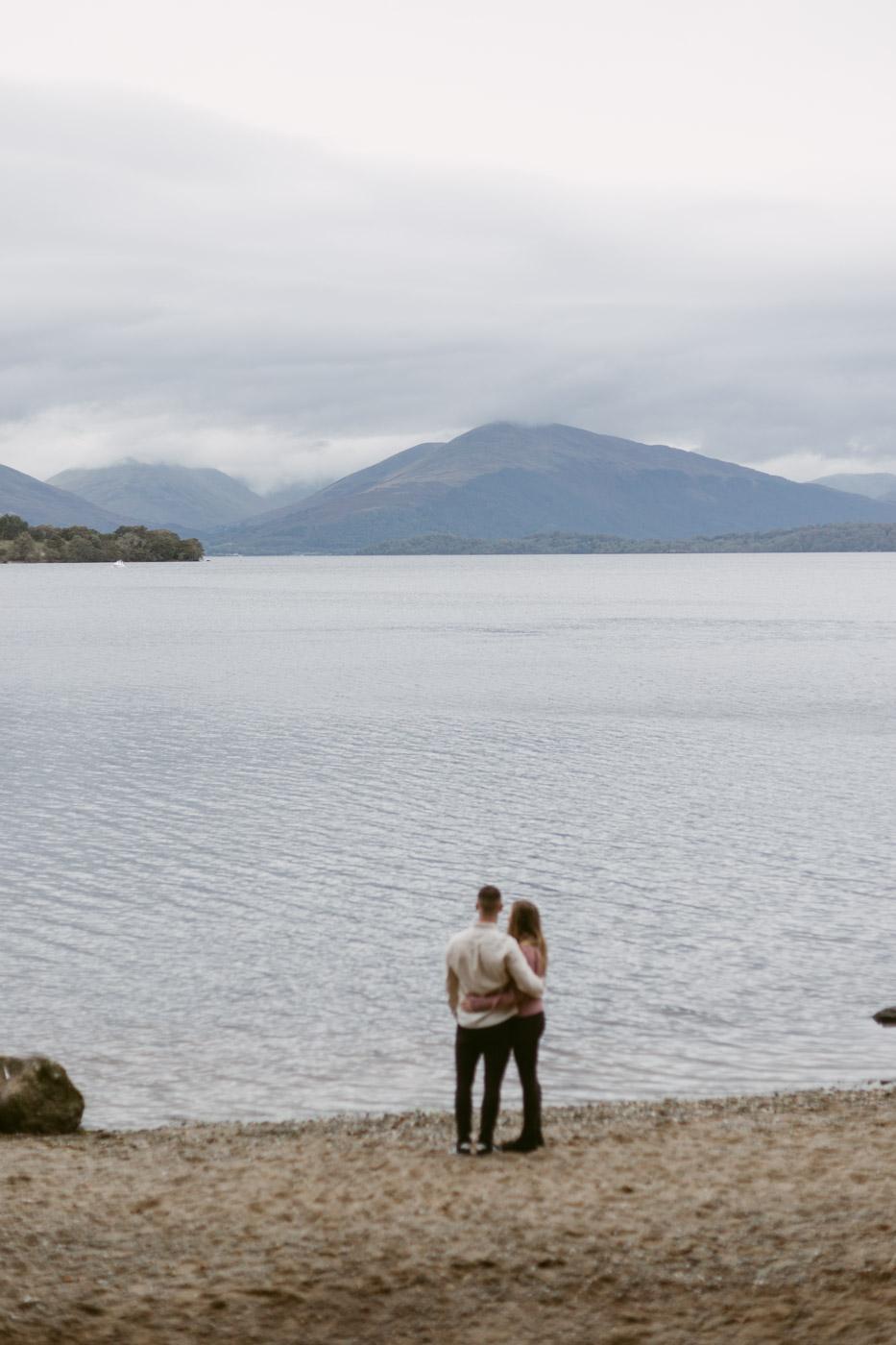 Engagement at Loch Lomond