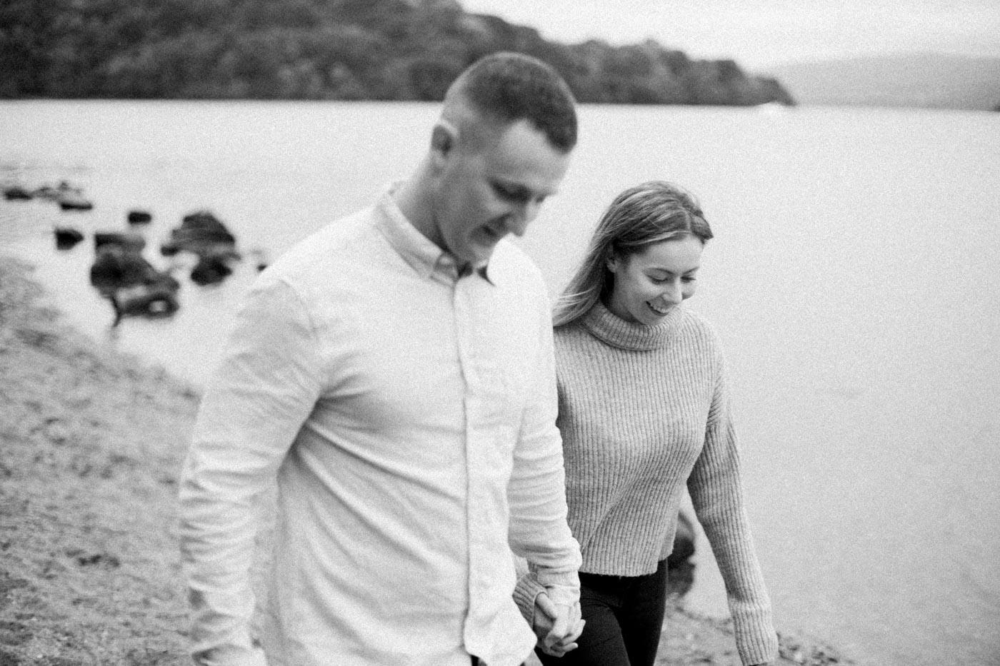 Loch Lomond Engagement Photography