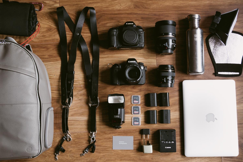 Wedding Photography Gear - Ceranna Photography