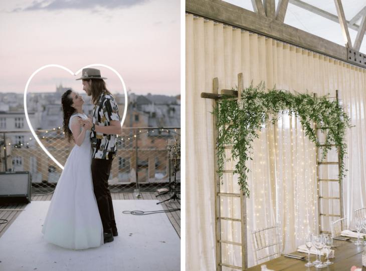 Wedding Arch Inspiration by Ceranna Photography