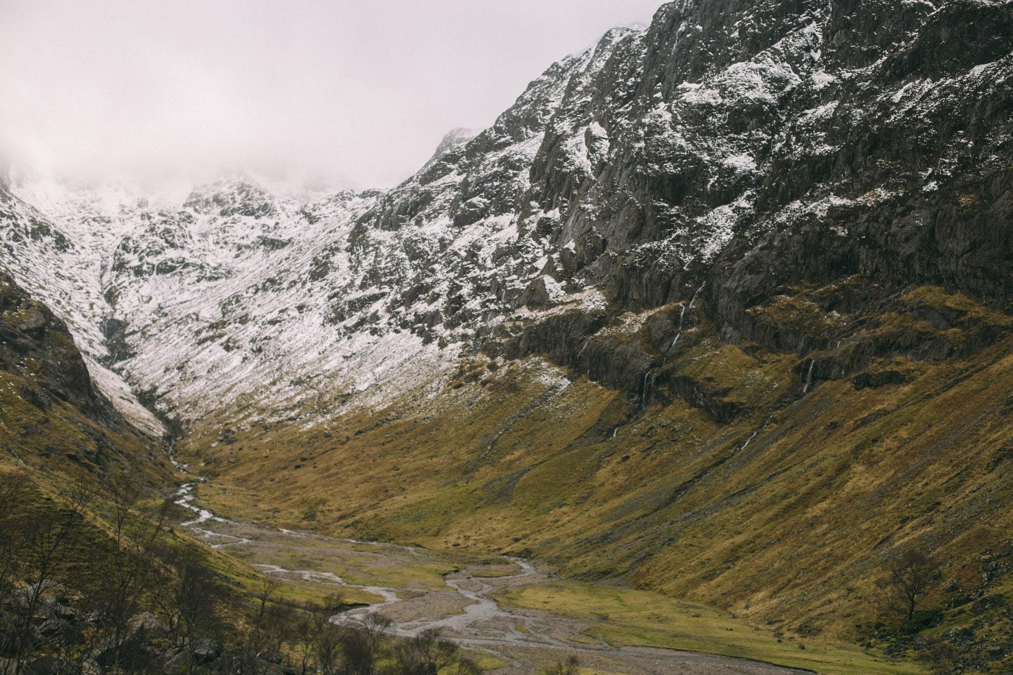 Lost Valley Glencoe - Scotland elope