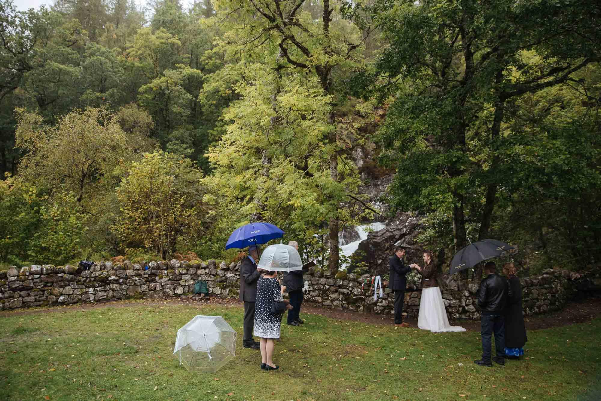 Socially Distanced Small Wedding