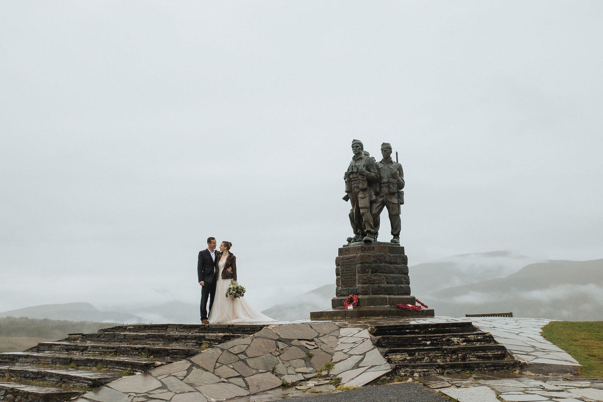 Commando Memorial Wedding
