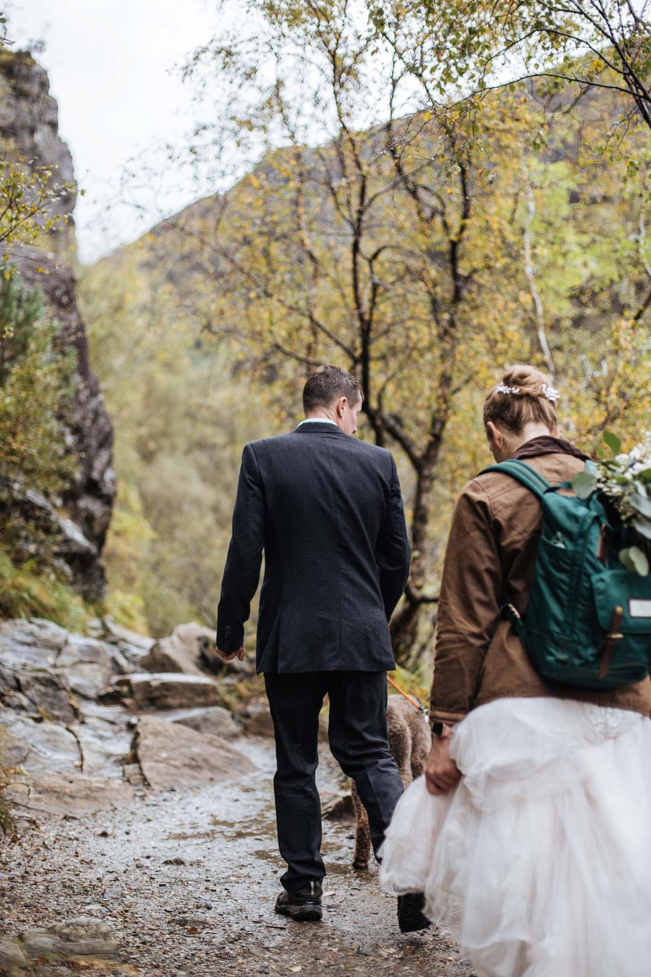 Hiking Elopement in Scotland