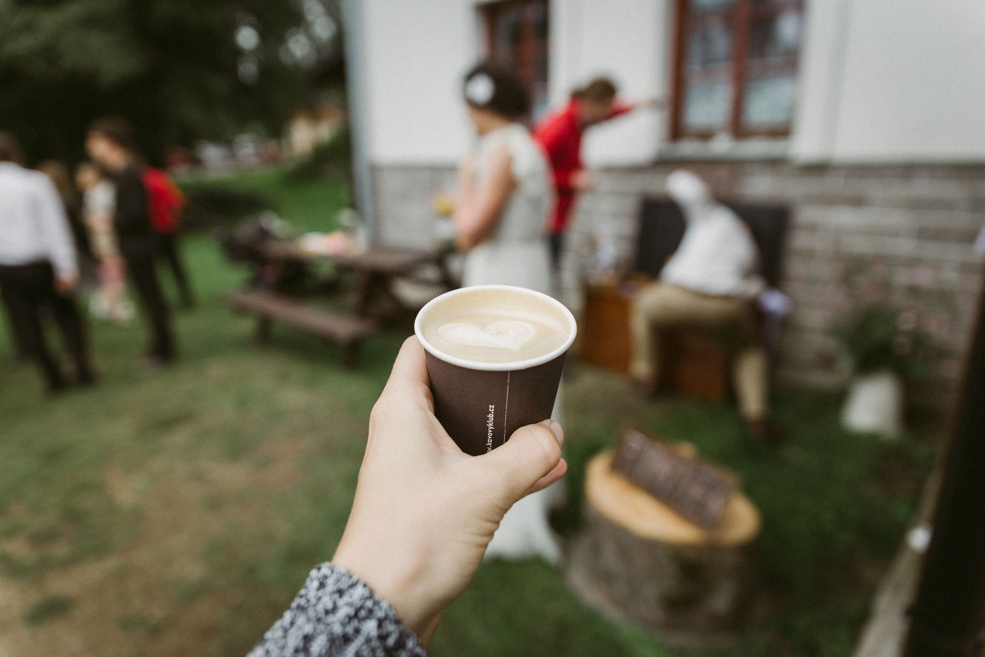 Svatební kávový catering Respect Coffee Praha