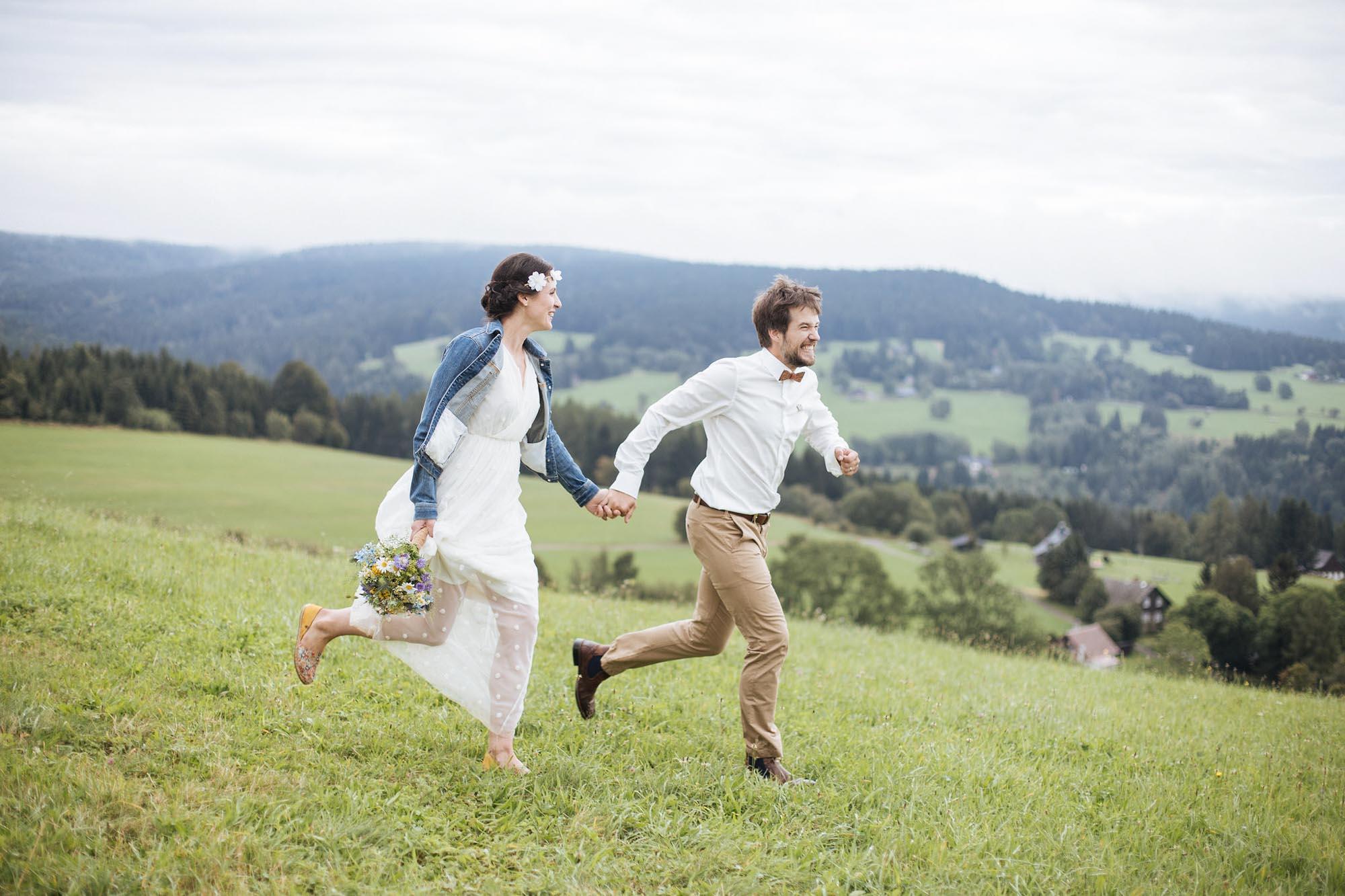 Svatba na horách - Orlické hory - svatební fotografka Anna Červinková - Ceranna Photography