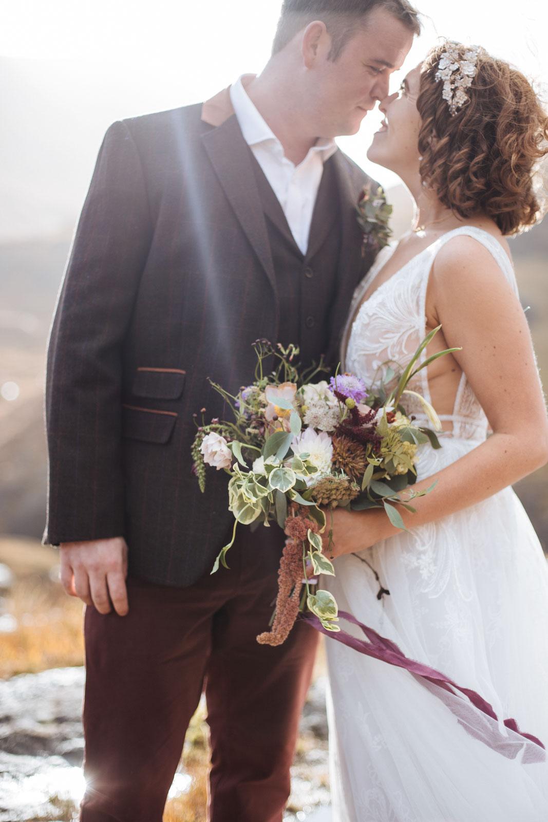 Briar Rose Sustainable Wedding Florist Scotland