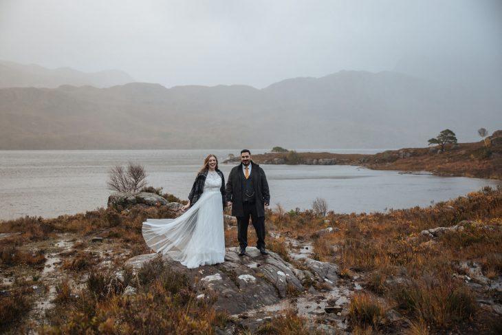 Shieldaig Lodge Elopement - Intimate wedding in Scotland