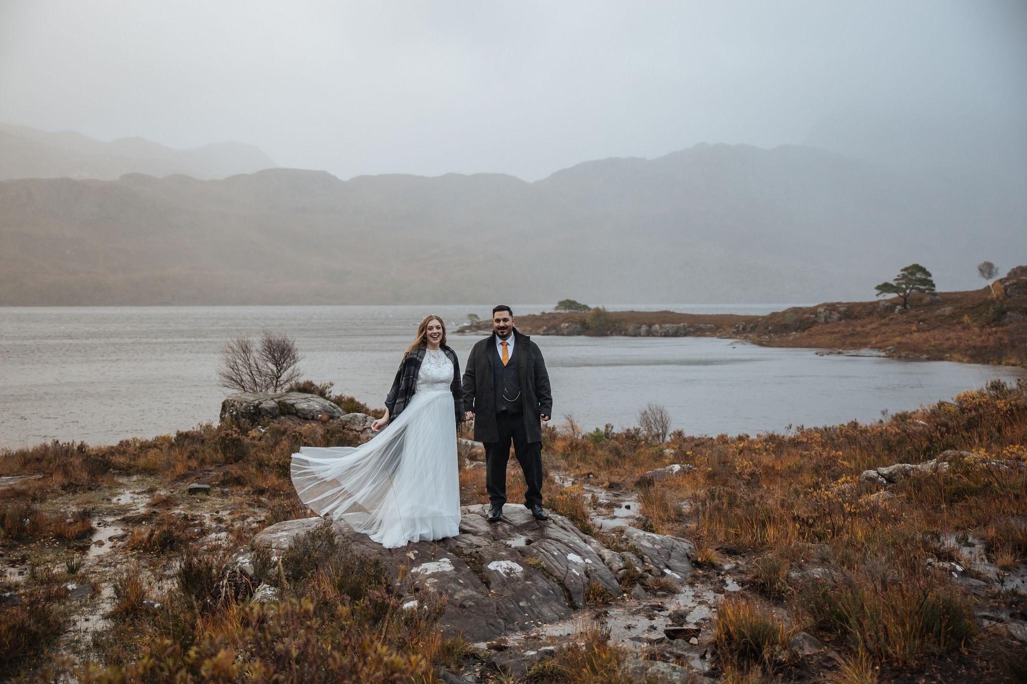 Shieldaig Lodge Elopement - Intimate wedding in Scotland | Torridon Elopement
