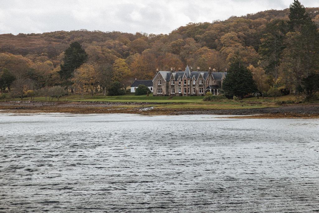 Shieldaig Lodge in Wester ross