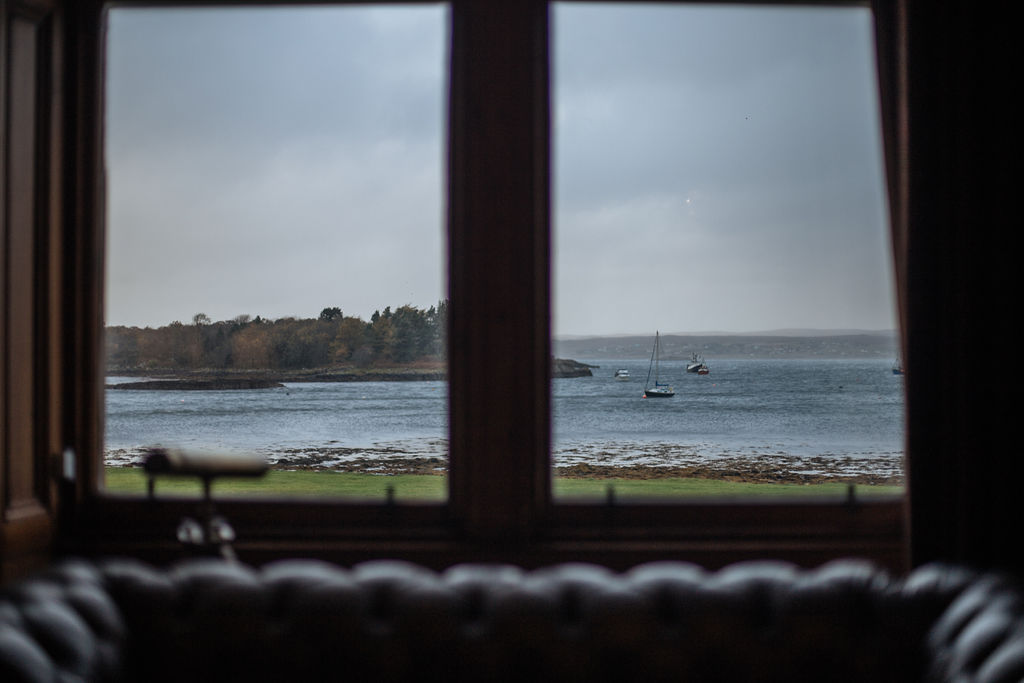 View from Shieldaig Lodge Sitting Room