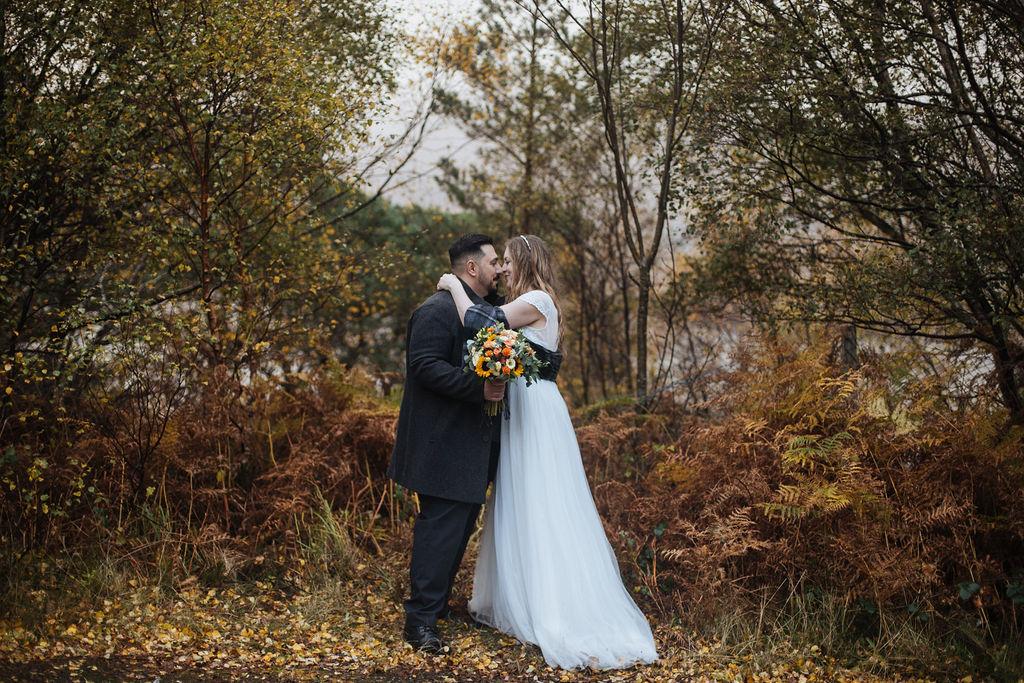 Shieldaig Lodge Elopement | Scottish adventurous wedding