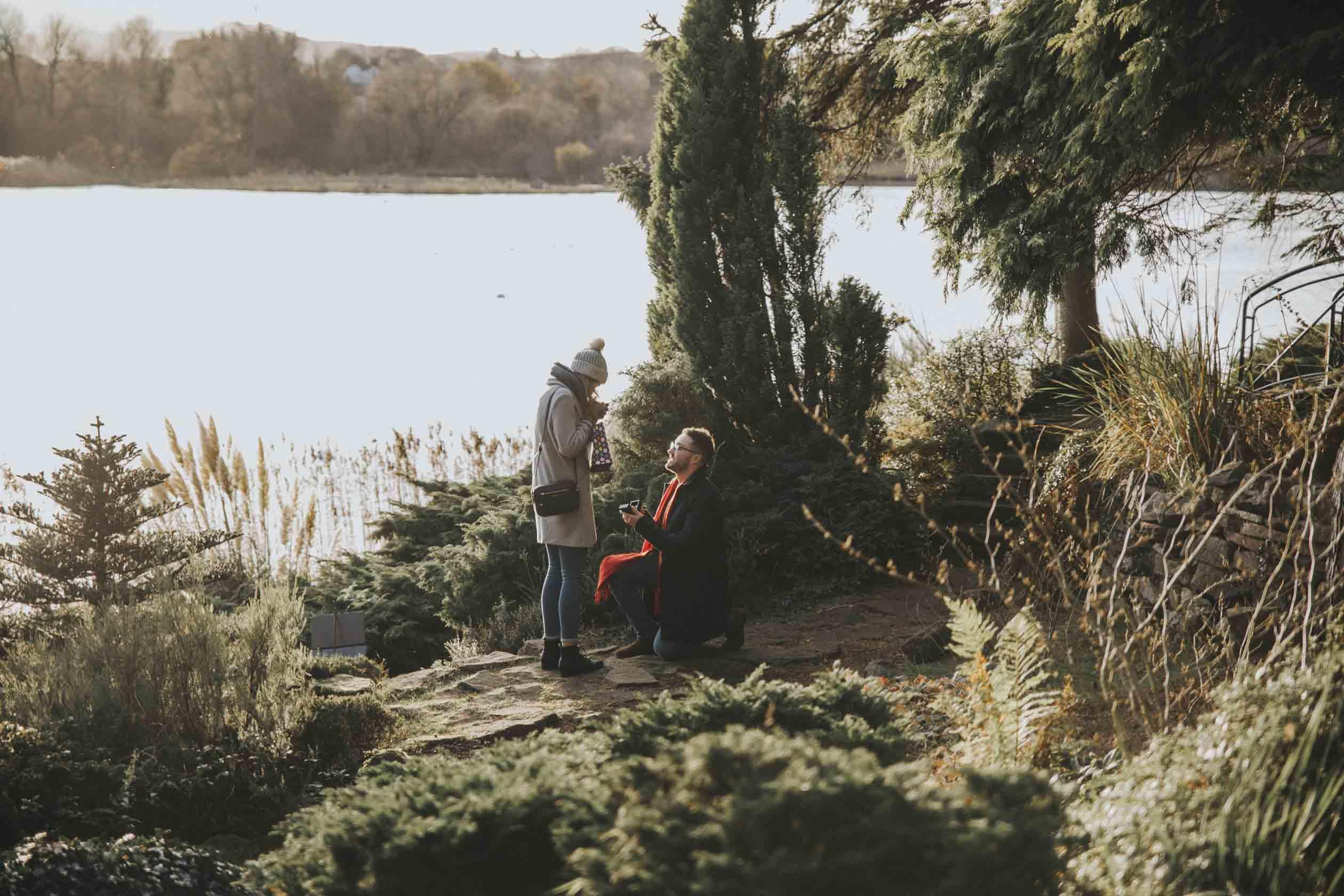 tajné zásnubní focení | žádost o ruku | rande