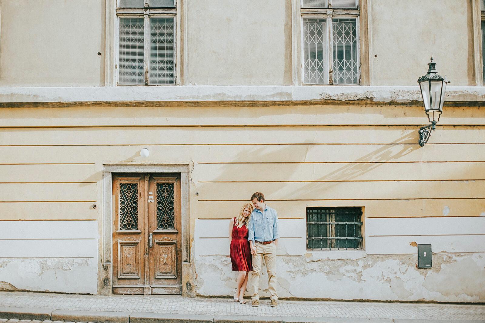 zásnubní focení praha - rande v praze